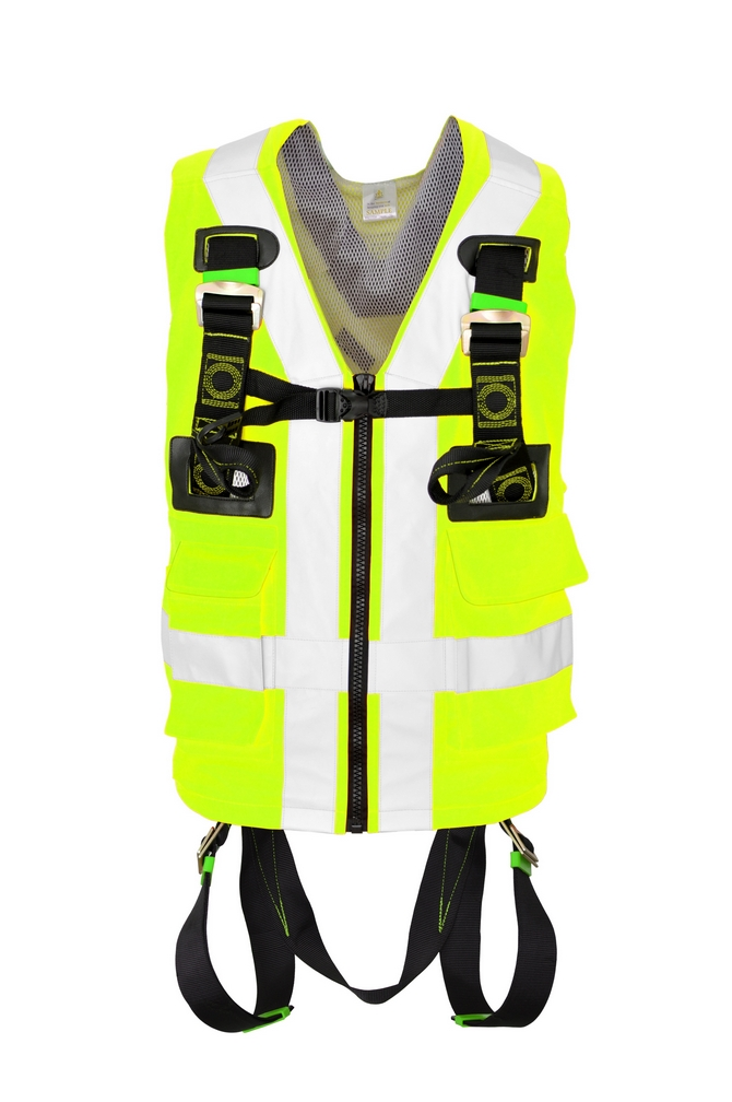 FULL BODY HARNESS HIGH VISIBILITY YELLOW  BSH029