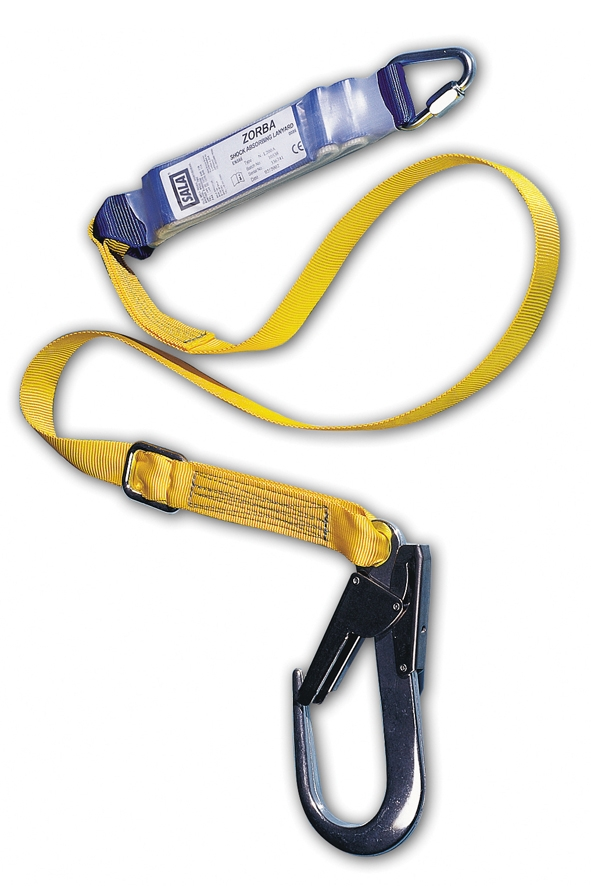 Adjustable Energy Absorbing Lanyard