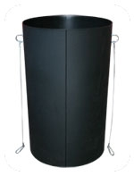 RUBBISH CHUTE BLACK STANDARD