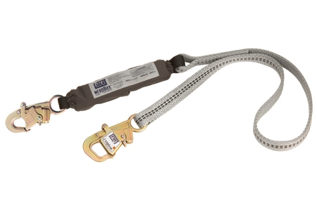Shock Absorbing Lanyards - Tie-Back  1221925/A