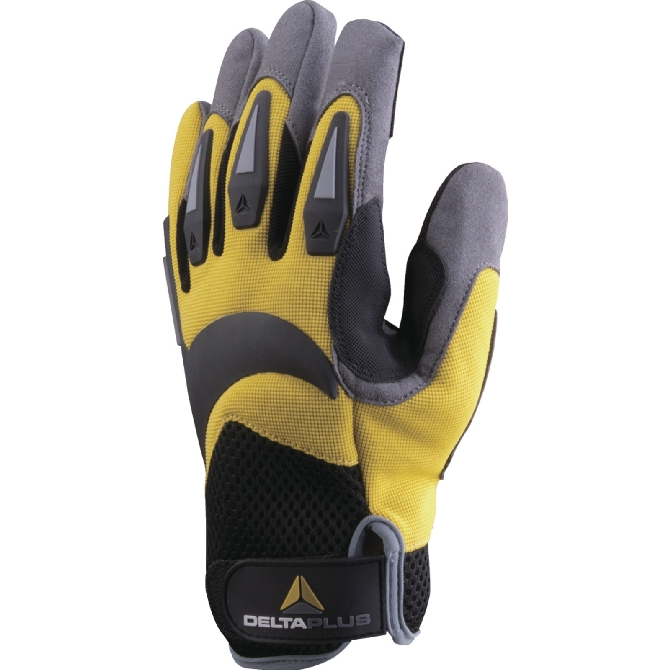 GLOVE WITH POLYAMIDE PAL - POLYESTER / ELASTHANE BACK - BACK REINFORCEMENTS (ATHOS VV902)