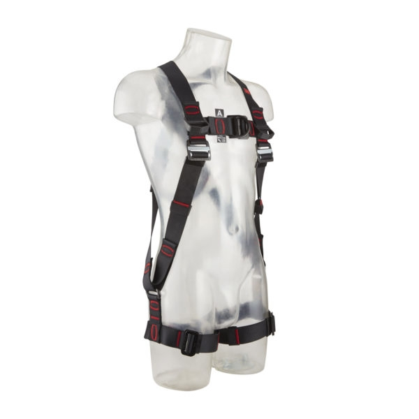 3M Protecta Standard Vest Style Fall Arrest Harness with Horizontal Leg Straps