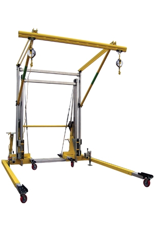 Free Standing Horizontal Rail Fall Arrest System