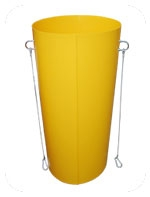 RUBBISH CHUTE YELLOW STANDARD
