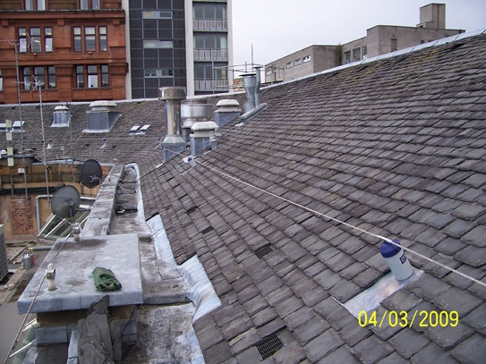 Evolution Fitted To Slate Roofs