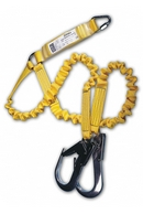 Expander Energy Absorbing Double Lanyard