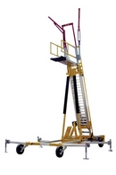 Free Standing Ladder Access System with Fall Protection